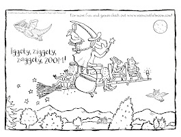 Coloring Pages For Room On The Broom