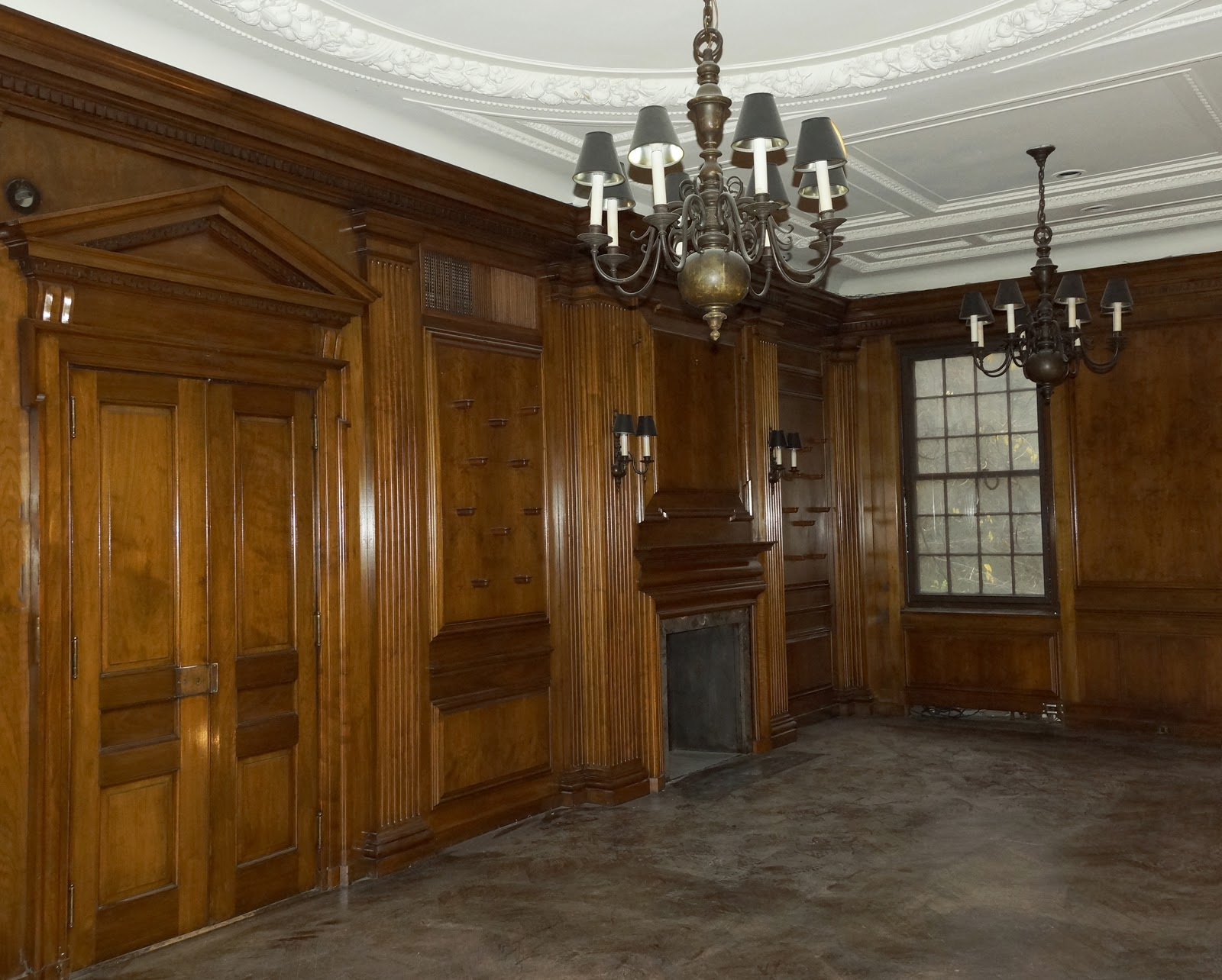 Malcolm Forbes Townhouse's Paneled Room