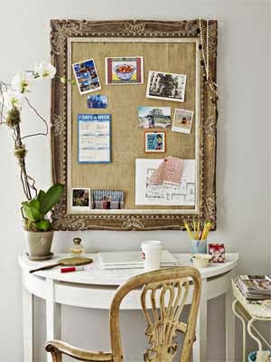 http://www.countryliving.com/homes/decor-ideas/empty-frame-bulletin-board#slide-3