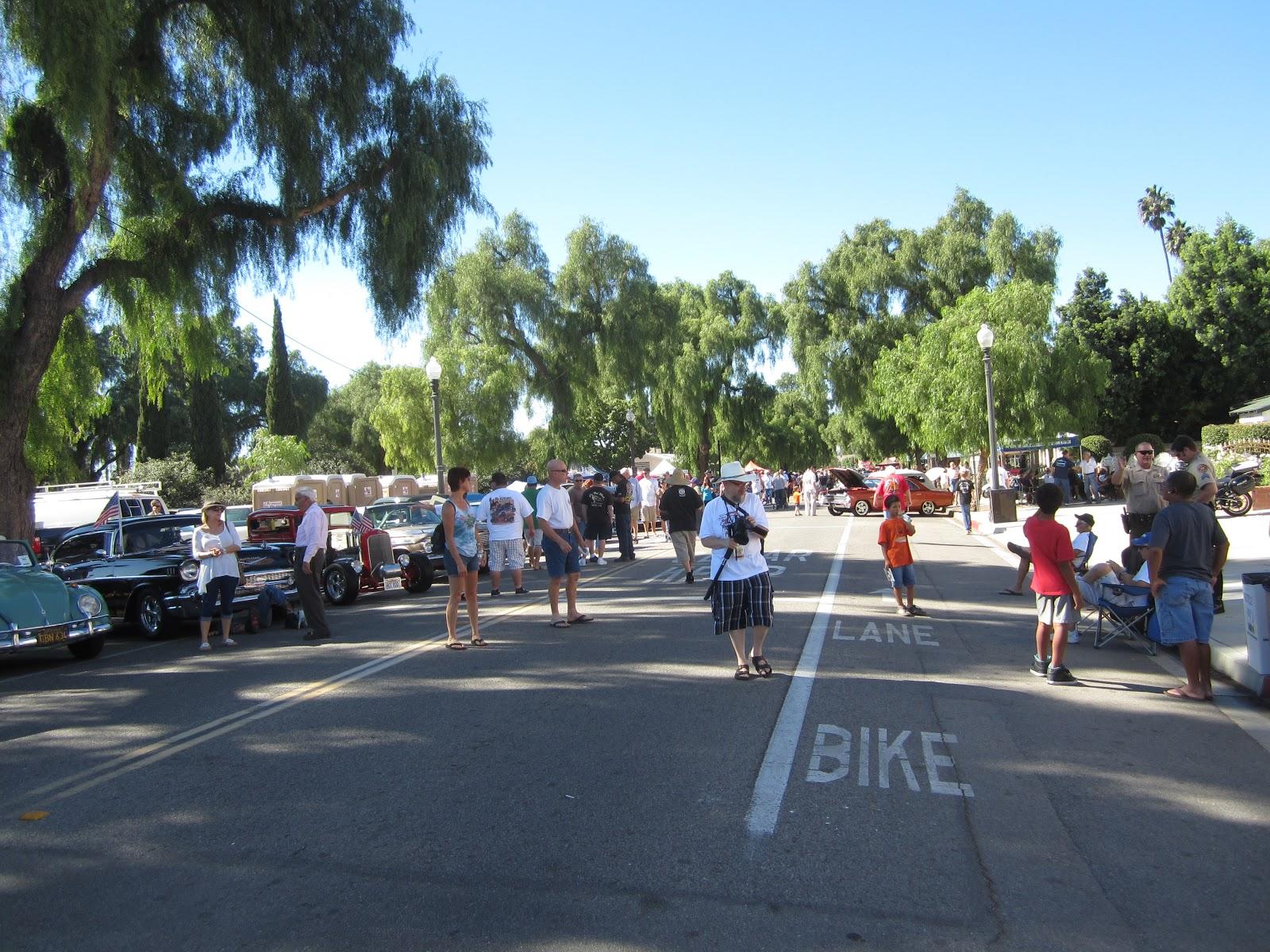 Moorpark High Street Car Show
