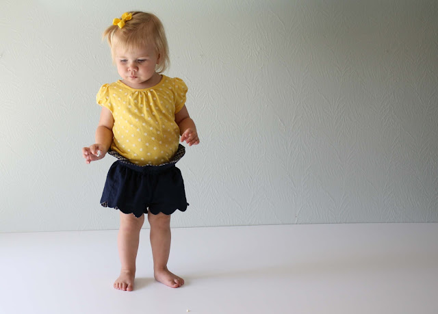 running with scissors toddler scallop shorts