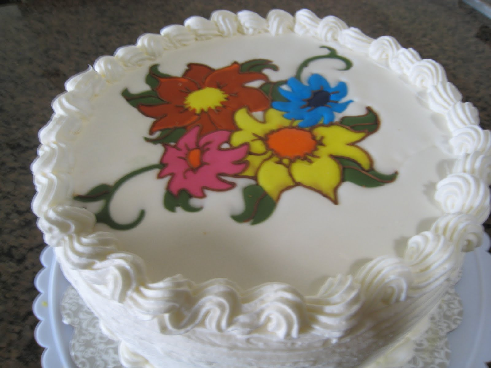 Cake And Sugar Art Nz : Judy Cakes Sugar Arts: Pineapple flavored cake with Color ...