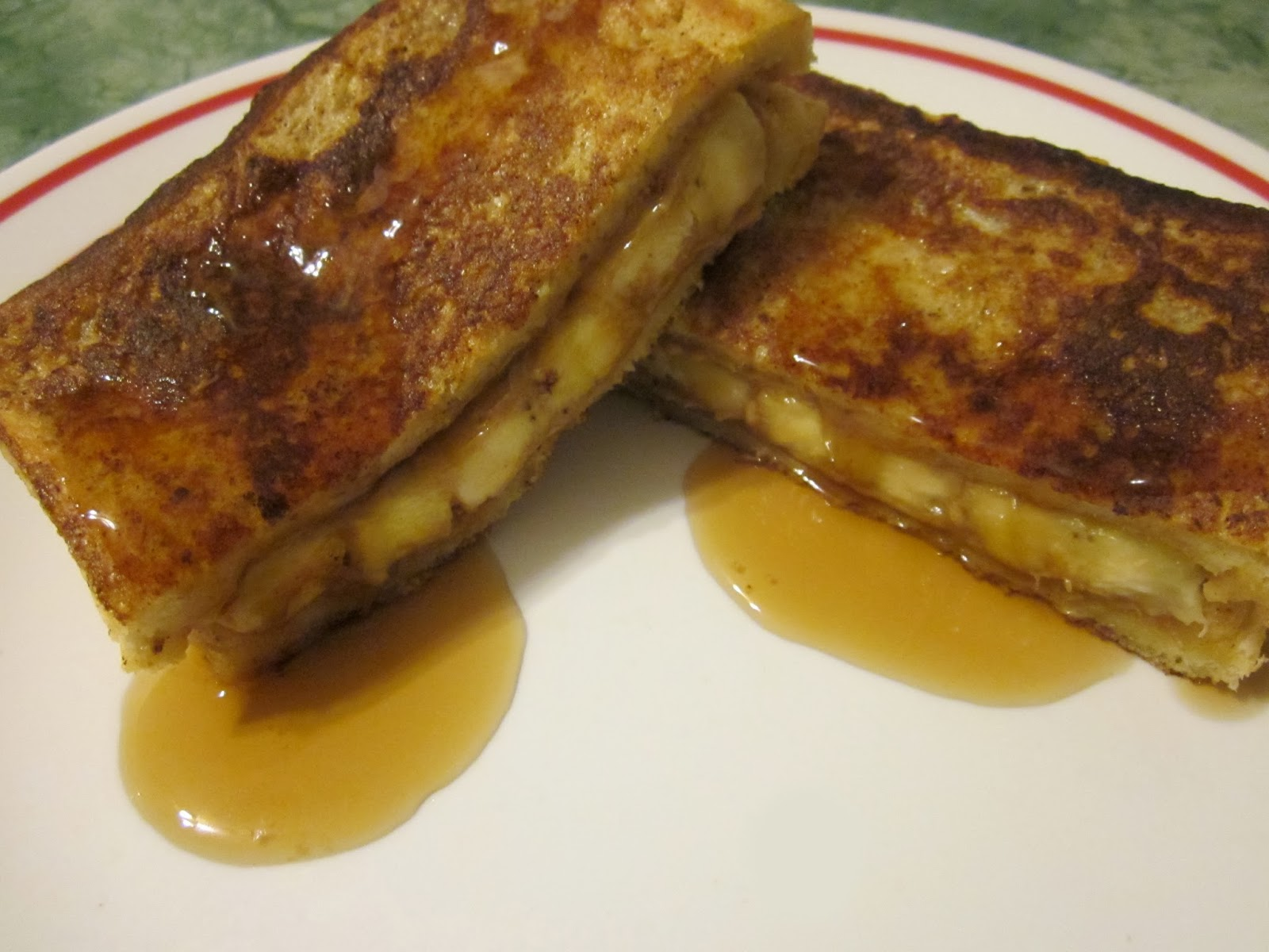 Redi-Set-Go Recipes: Peanut Butter Banana Stuffed French Toast