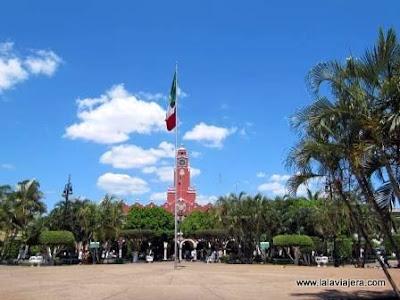 Zocalo Merida, Yucatan, Mexico