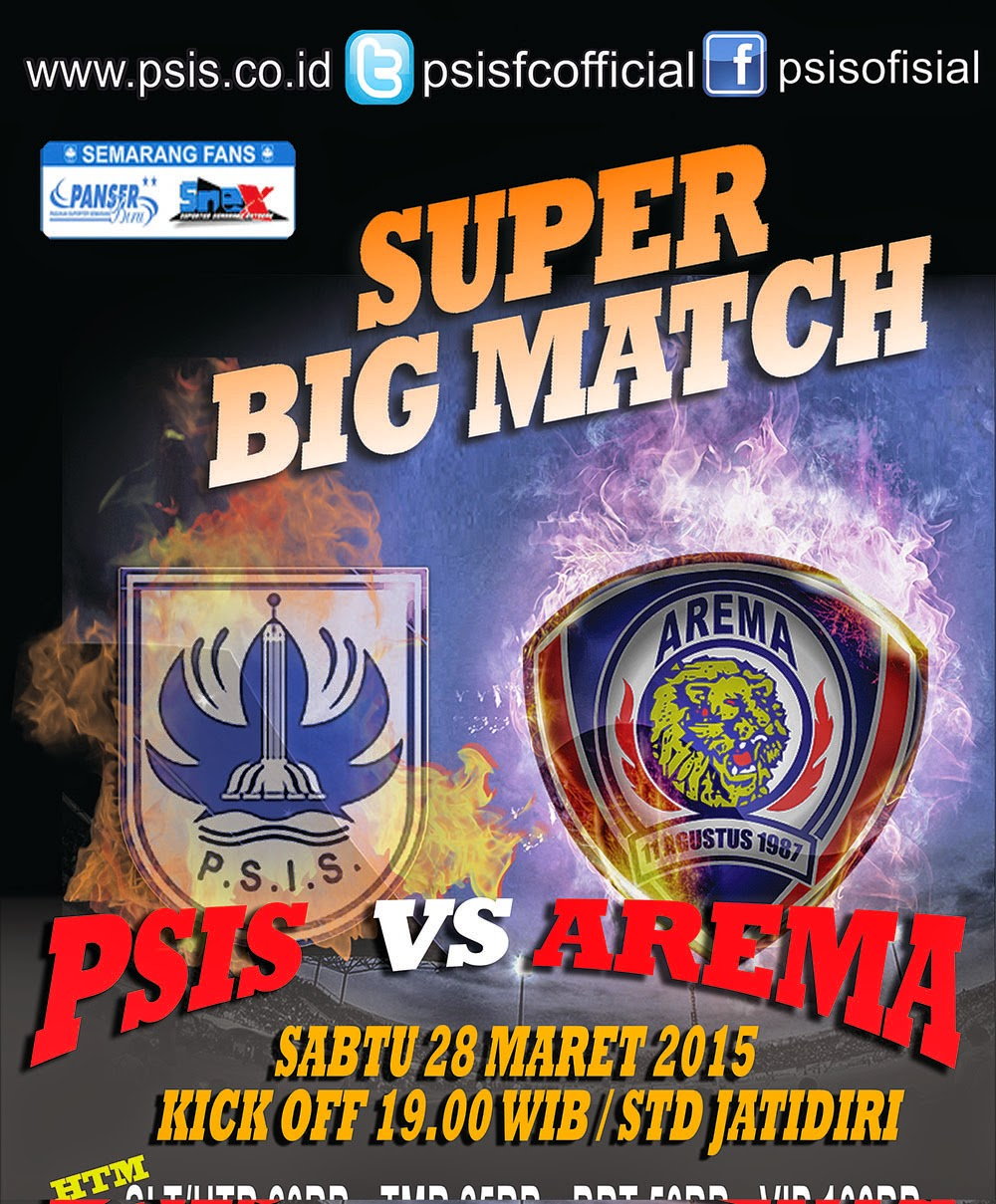 PSIS vs AREMA Friendly Match 2015