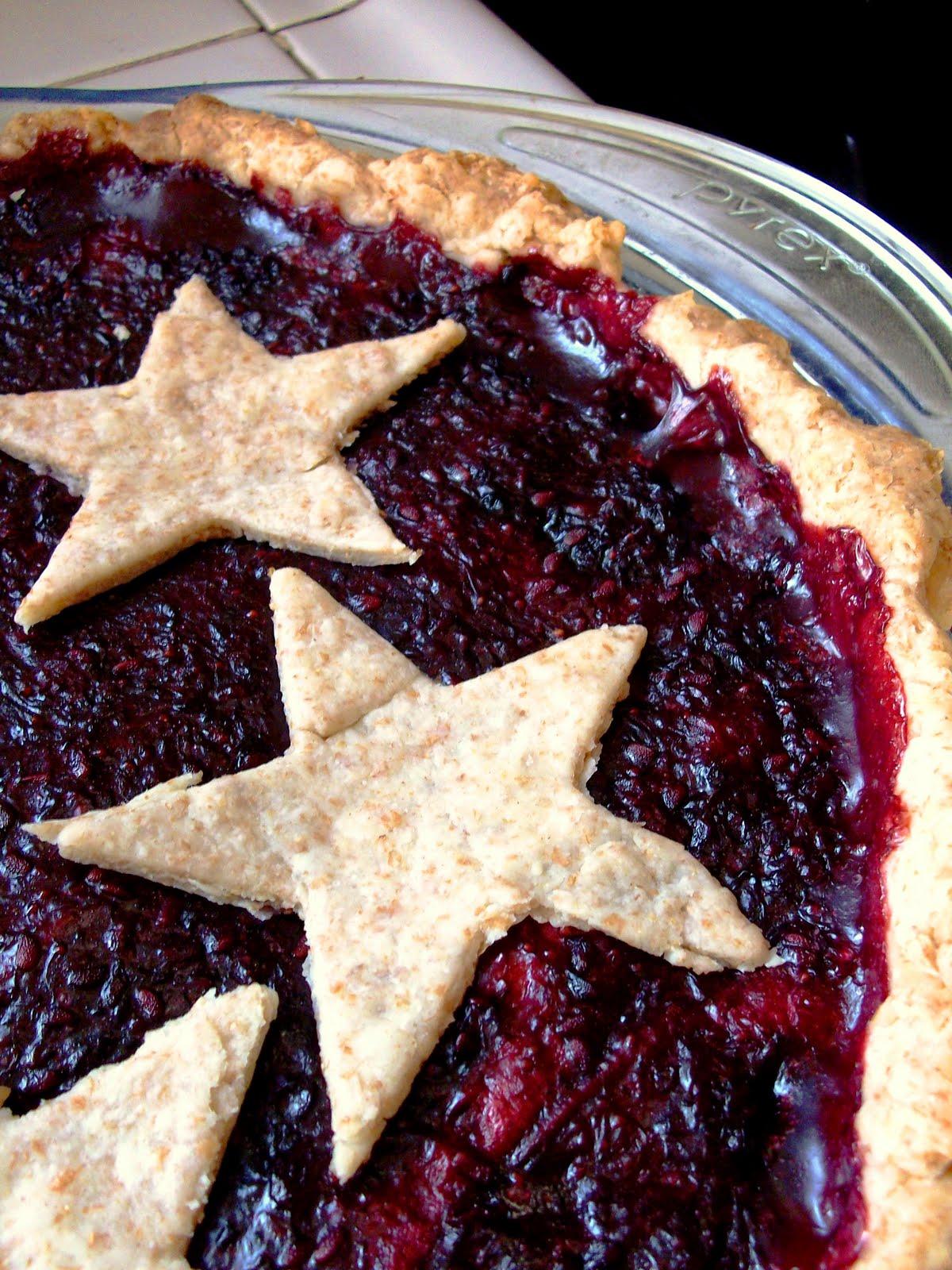 Julia's (Vegan) Kitchen: Blackberry Pie