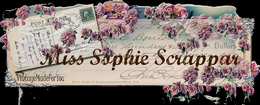 Miss Sophie scrappar