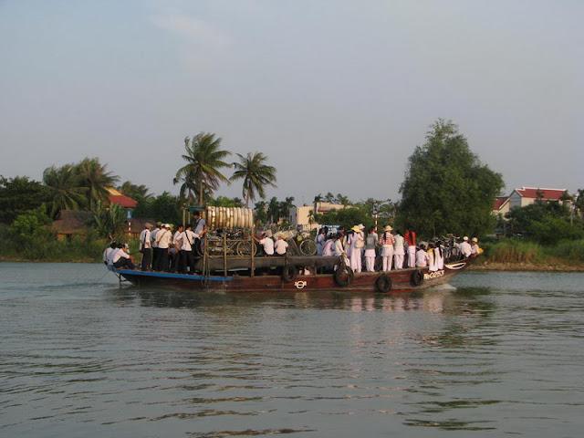 Hoian vue sur le fleuve