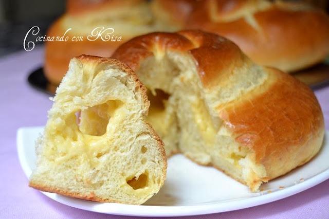 Cocinando con kisa pan filipino con queso o brioches for Pane con kitchenaid