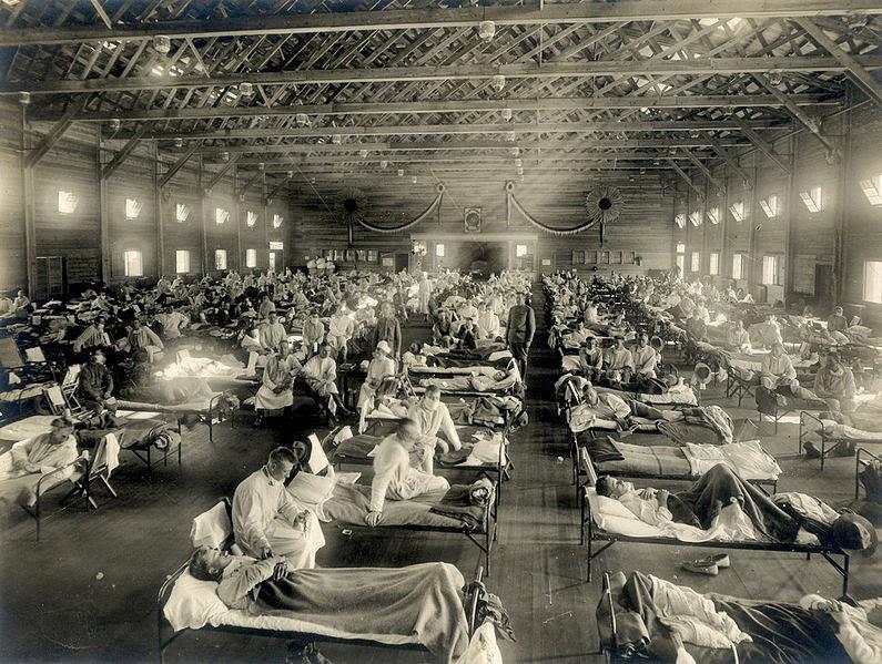 Emergency military hospital