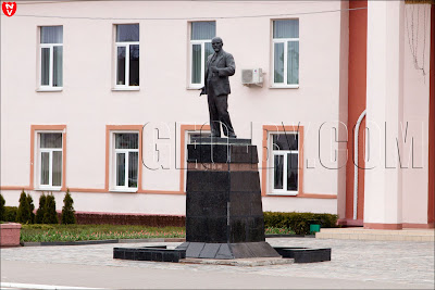 Статуя Ленина в Смолевичах