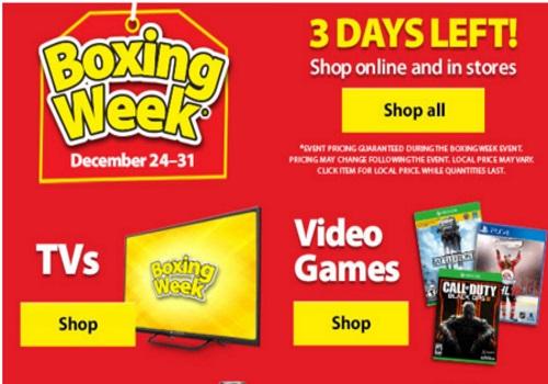 Walmart Boxing Week Sale
