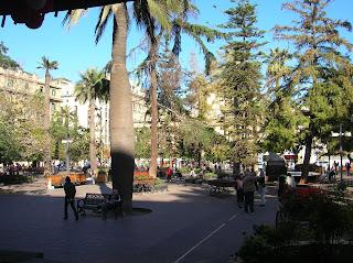 Plaza de Armas Santiago, Santiago de Chile, Chile, vuelta al mundo, round the world, La vuelta al mundo de Asun y Ricardo