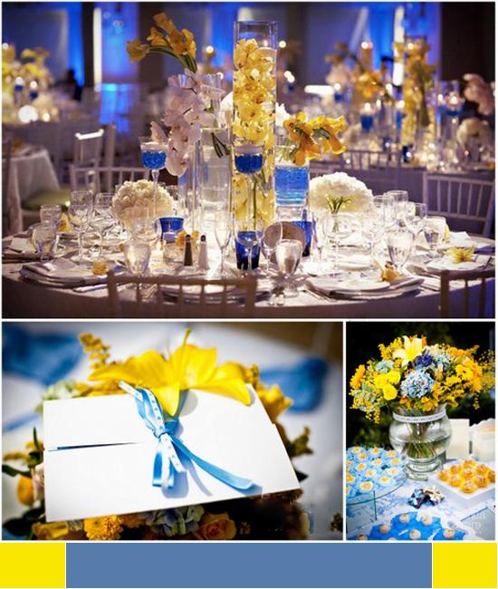 decoracao de festa de casamento azul e amarelo : decoracao de festa de casamento azul e amarelo:azul é a cor dos casais que buscam entendimento, respeito e querem