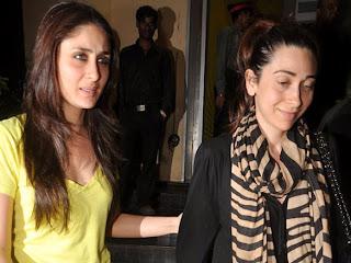 Saif ali khan and karishma kapoor at premiere of Agent vinod