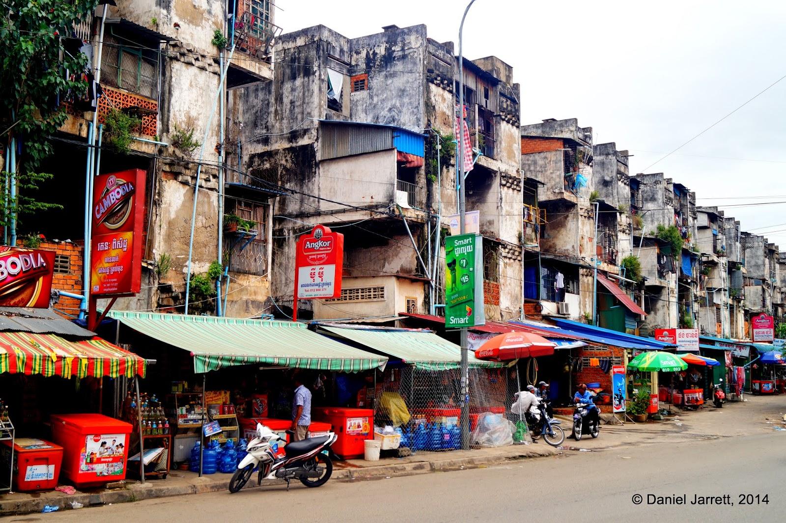 White Building, Phnom Penh, Cambodia
