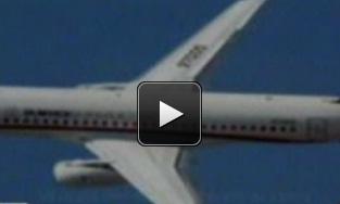 Video Pesawat Sukhoi Hilang di Gunung Salak