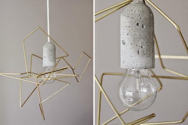 10 Lamparas de Metal Recicladas
