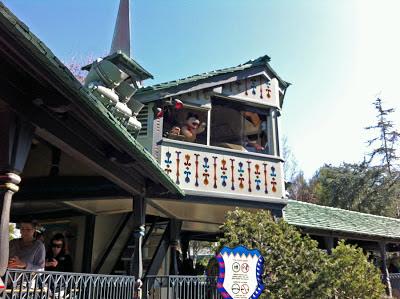 Matterhorn Bobsleds station control Disneyland Abominable