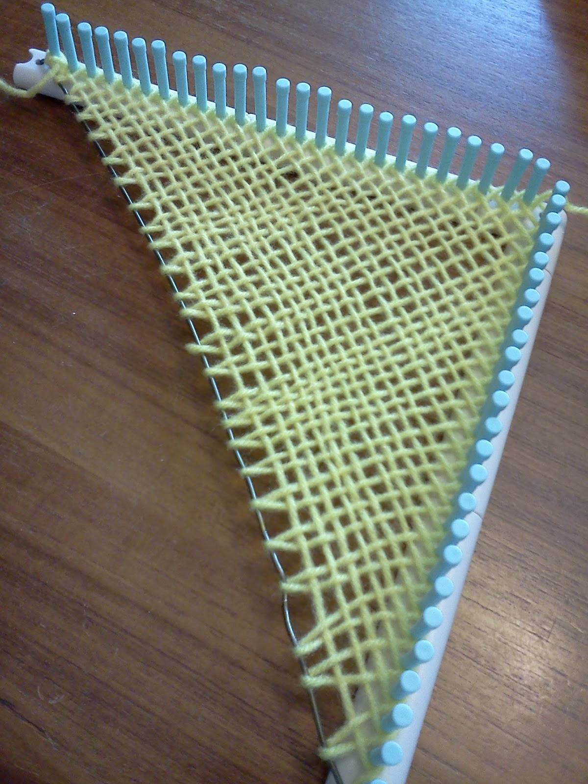 Instructions For Triangle Looms The Hacked Martha Triangle Looms