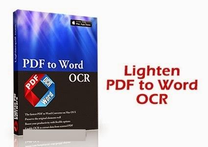 Download Lighten PDF to Word OCR 3.2.0 [Full Version Direct Link]