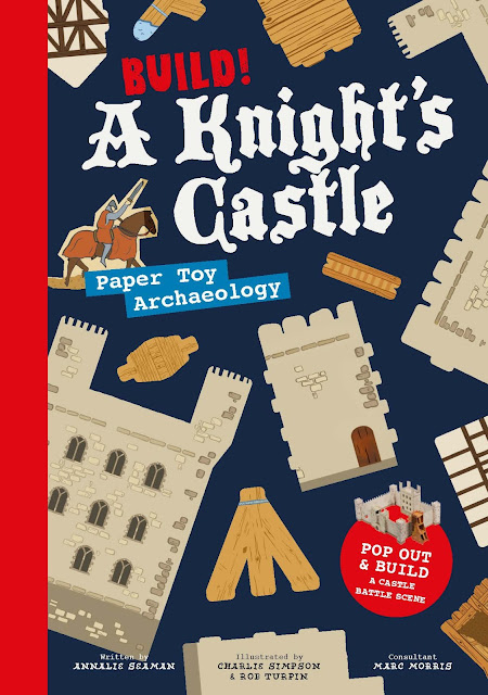Build! A Knight's Castle: Pop Out and Build a Castle Battle Scene - giveaway competition