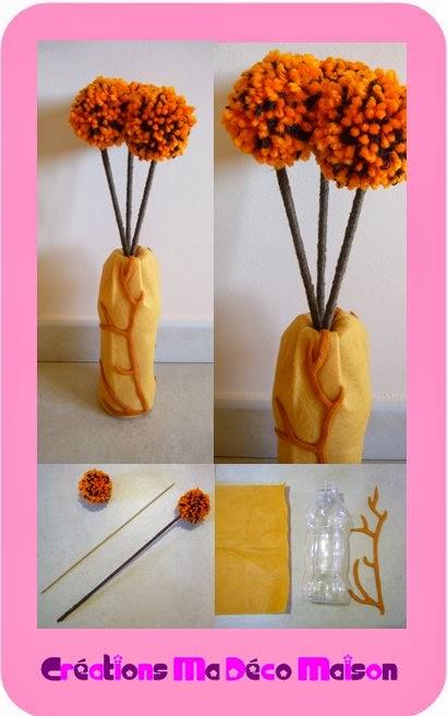 http://madecomaison.blogspot.com.es/2011/11/deco-branches-pompons-automne.html