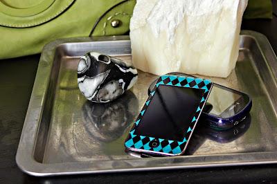 iPod and Phone Skins custom from digital scrapbook paper