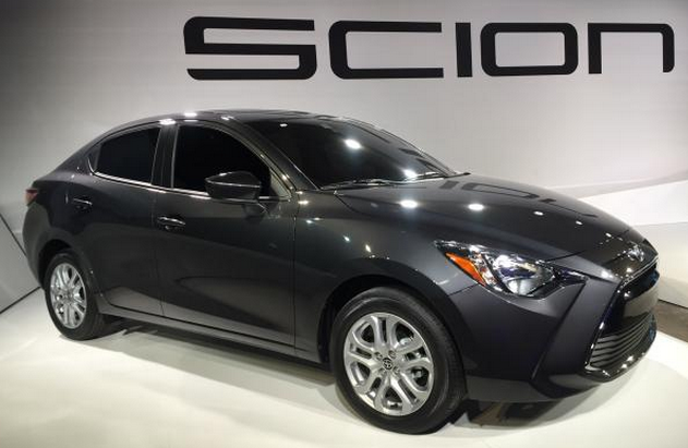 2017 Scion IA New York Auto Show