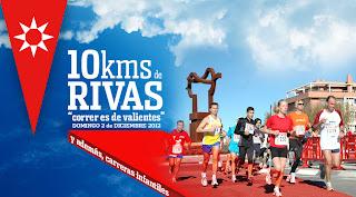 Cartel de los 10km de Rivas
