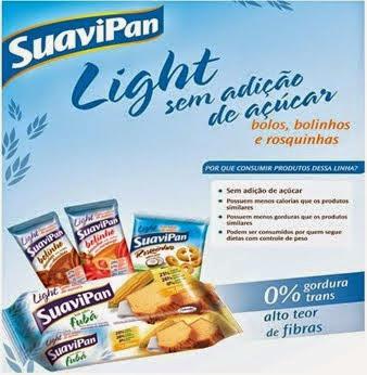 Seja Ligth com SuaviPan.