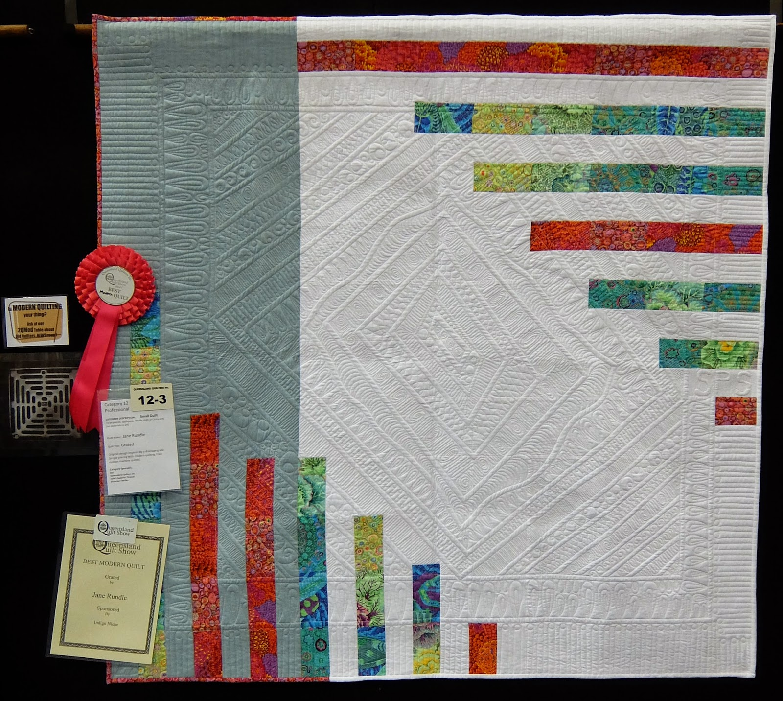 Modern Hand Quilting Patterns : Jane madly quilting: Funky Feathers and show quilts