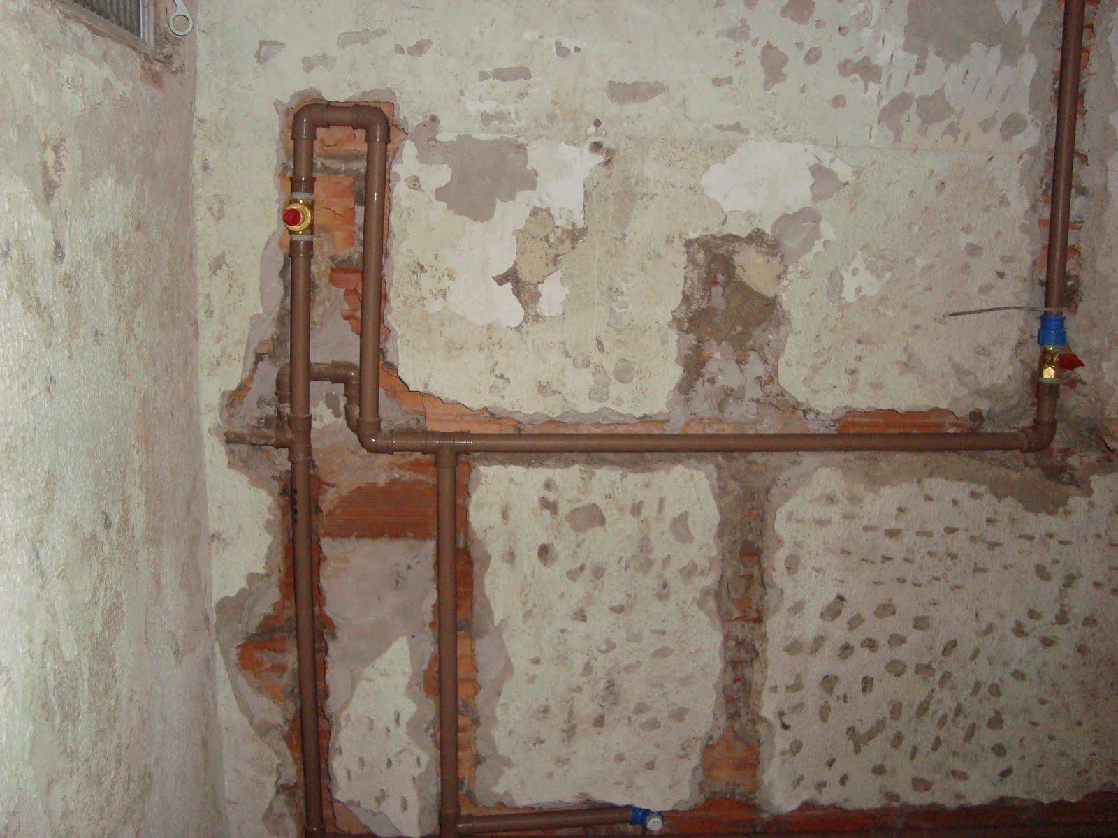 Reformando Meu Apê!!: Começando a hidraulica banheiro social. #1E3766 1600 1200