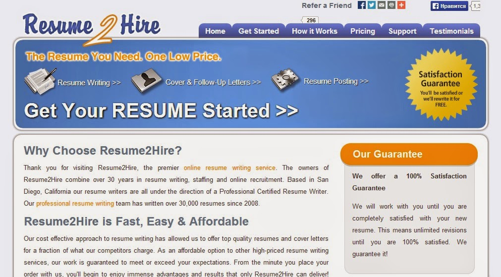 resume writing services reviews - Professional Resume Writers Cost