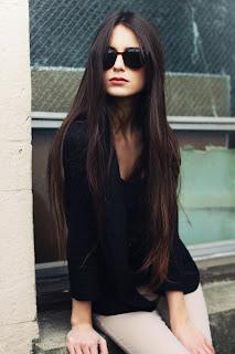 hosszú haj napszemüveg