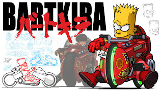 parody vimeo video simpsons akira bart