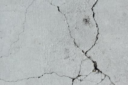 Attention aux probl mes de pyrite for Fissure sol garage