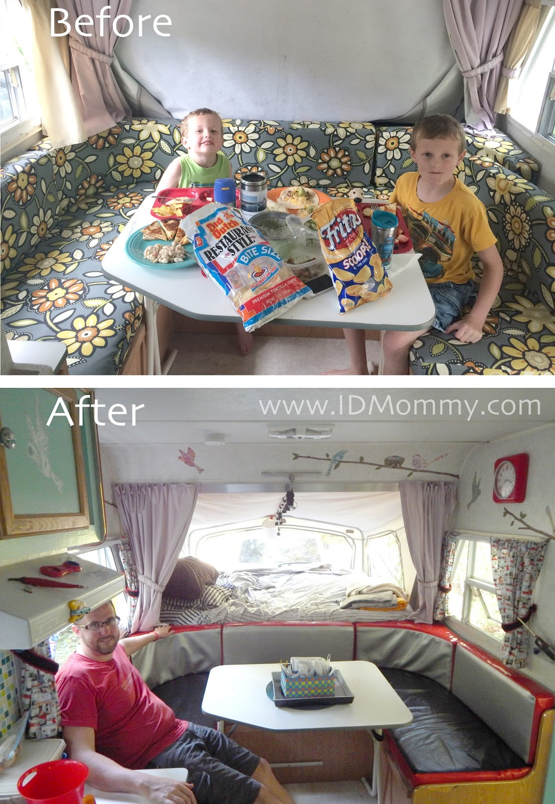 ID Mommy IDMommy Projects Our Camper Remodel