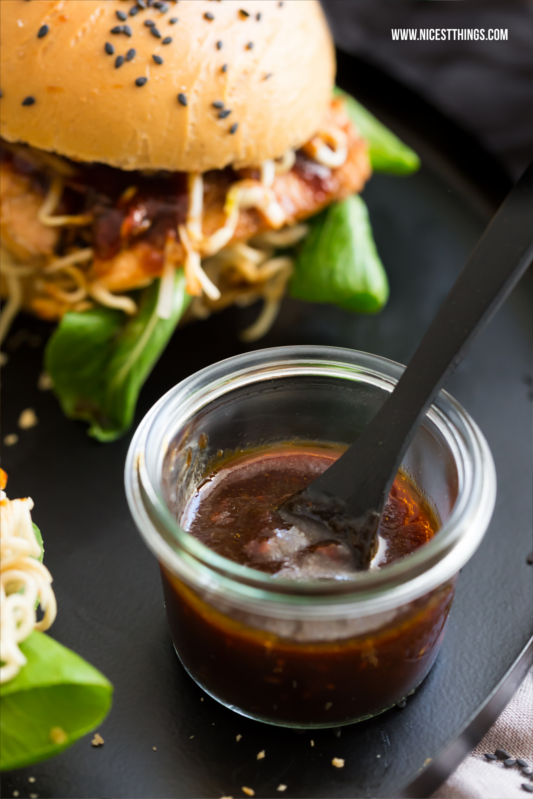 Asian BBQ Sauce with Honey and Garlic