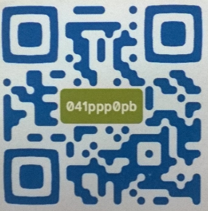 Código QR do Professor