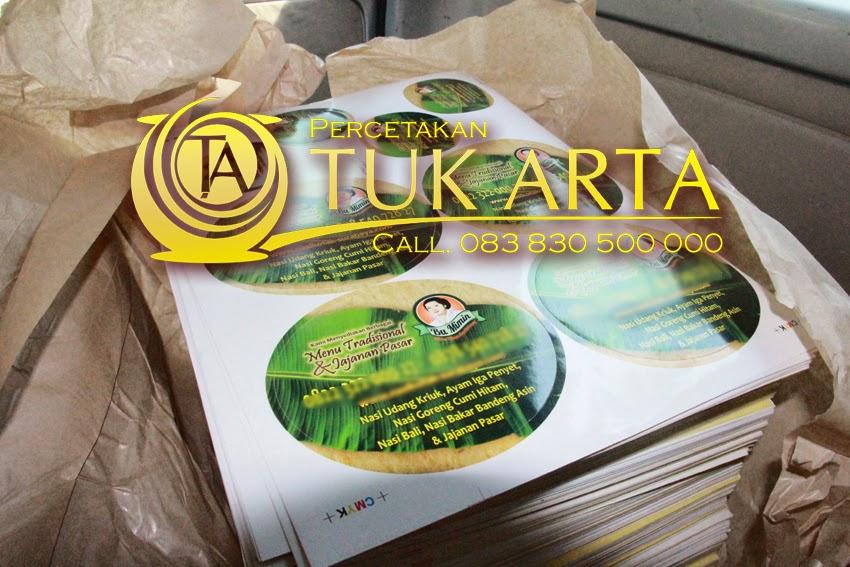 cetak stiker surabaya
