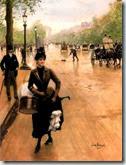 La marche de l'Histoire entre les Champs-Élysées et Lutèce