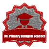 I am oficially an ICT Primary Bilingual Teacher!
