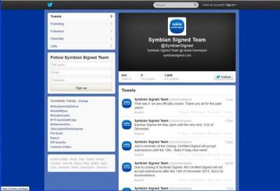 Symbian Ucapkan Salam Perpisahan Menyentuh di Twitter