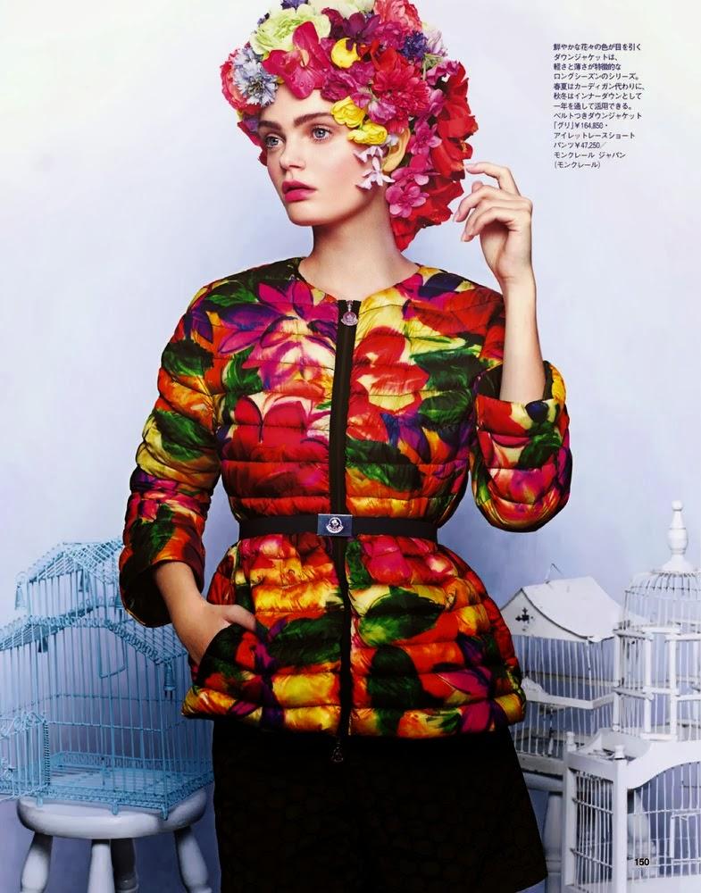 Magazine Photoshoot : Marthe Wiggers Photoshoot For Junji Hata Spur Magazine February 2014 Issue