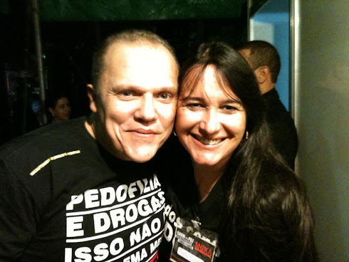 Marta Lança e Rony Lins - Juntos Contra as Drogas e a Pedofilia