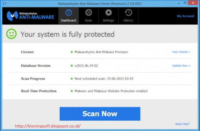 Download Malwarebytes Anti-Malware Premium 2.1.8 Full Version