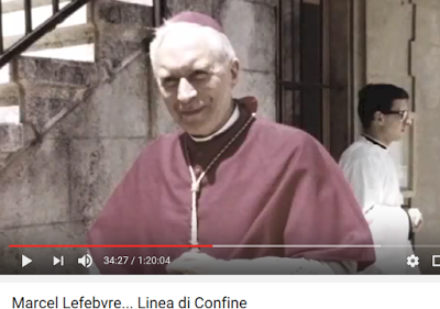 Monseñor Lefebvre tiene la marca de la bestia.