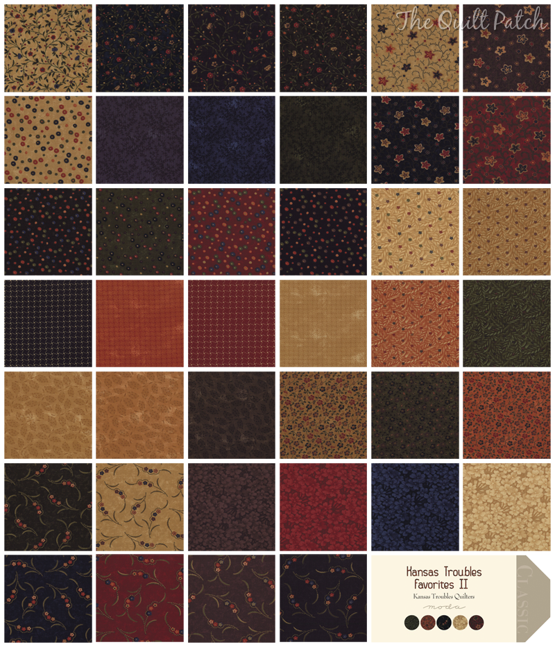 Moda Kansas Troubles Favorites II - Kansas Troubles Quilters -  The Quilt Patch
