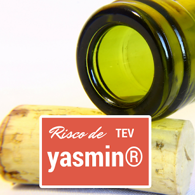 Risco de TEV (tromboembolismo venoso) com yasmin®